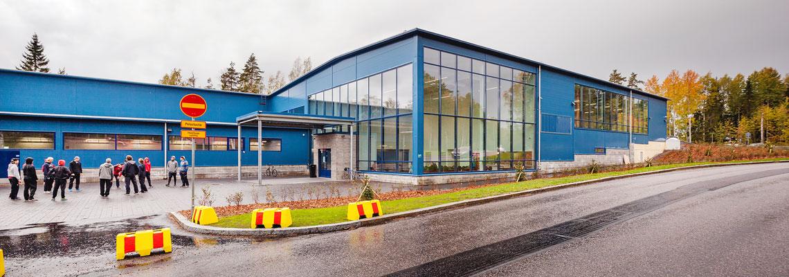 KK-Palokonsultti Oy, referenssit - Kaarelan jäähalli, Helsinki