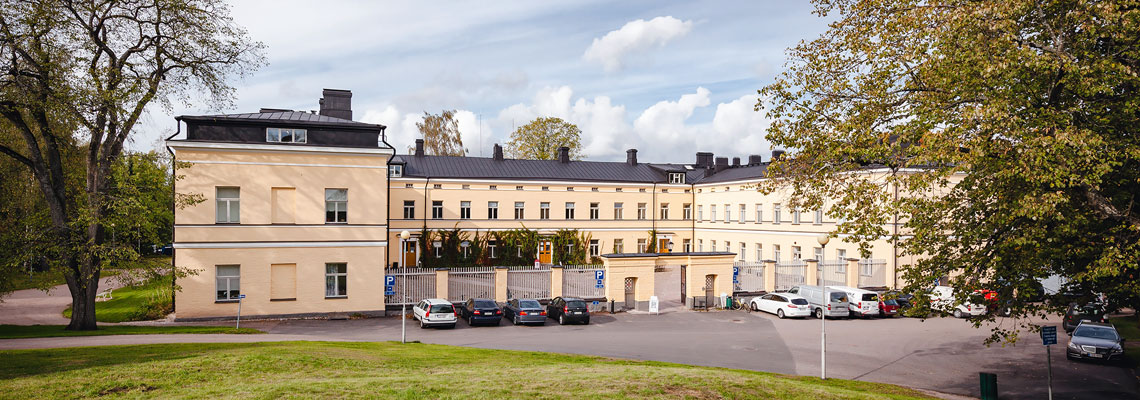 KK-Palokonsultti Oy, referenssit - Lapinlahden sairaala, Helsinki