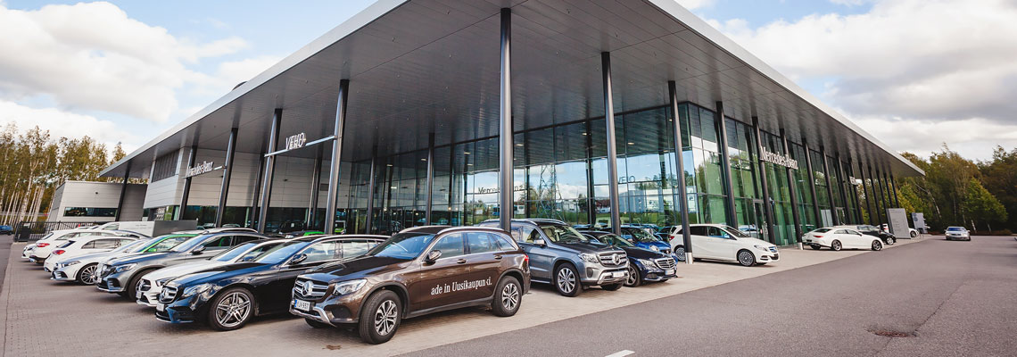 KK-Palokonsultti Oy, referenssit - Mercedes-Benz Airport, Vantaa
