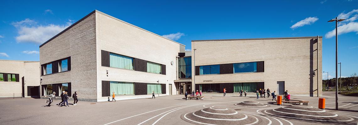 KK-Palokonsultti Oy, referenssit - Opinmäen kampus, Espoo