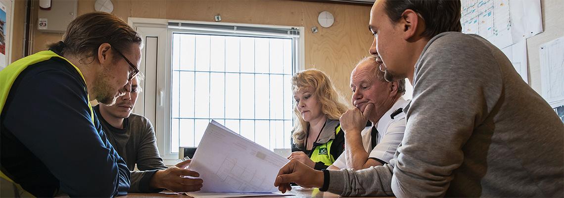 Suunnitteluprosessi, kokous - KK-Palokonsultti Oy